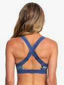 ROXY Fitness - Athletic Triangle Bikini Top for Women ERJX303850