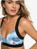 ROXY Fitness - Athletic Triangle Bikini Top for Women  ERJX303850