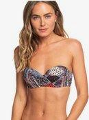 Romantic Senses - Moulded Underwire Bandeau Bikini Top for Women ERJX303862