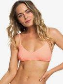 Beach Classics - Athletic Triangle Bikini Top for Women ERJX303953
