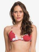 Printed Beach Classics - Fixed Tri Bikini Top for Women  ERJX303966