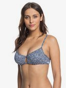 Printed Beach Classics - Underwired Bralette Bikini Top for Women  ERJX304075
