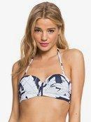 Printed Beach Classics - Moulded Bandeau Bikini Top  ERJX304078
