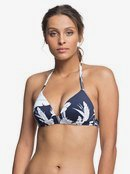 Printed Beach Classics - Moulded Triangle Bikini Top  ERJX304081