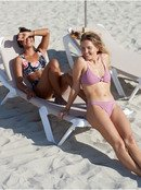 Stay Golden - Fixed Triangle Bikini Top for Women  ERJX304175