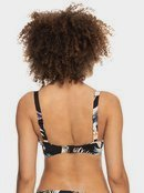 Printed Beach Classics - D-Cup Underwired Bikini Top for Women  ERJX304343