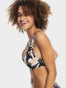 Printed Beach Classics - D-Cup Underwired Bikini Top for Women  ERJX304343