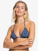 Printed Beach Classics - Tiki Tri Bikini Top for Women  ERJX304347