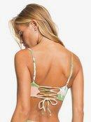 Wildflowers - Reverisble Bandeau Bikini Top for Women  ERJX304425