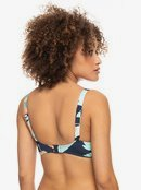 Printed Beach Classics - Underwired D-Cup Bikini Top for Women  ERJX304433