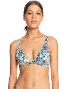 Marine Bloom - Elongated Tri Bikini Top for Women  ERJX304474