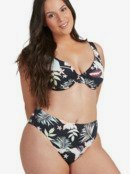 Printed Beach Classics - Mid Waist Bikini Bottoms for Women  ERJX404092
