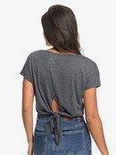 Happy Memories - Cropped Tie-Back T-Shirt  ERJZT04864