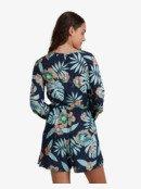Sing In Silence - Long Sleeve Playsuit for Women  URJWD03065