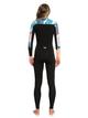 6 3/2mm POP Surf Chest Zip Wetsuit Black ERJW103047 Roxy