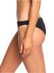 1 Beach Classics Moderate Bikini Bottoms for Women Black ERJX403864 Roxy
