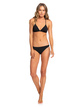 2 Beach Classics Moderate Bikini Bottoms for Women Black ERJX403864 Roxy