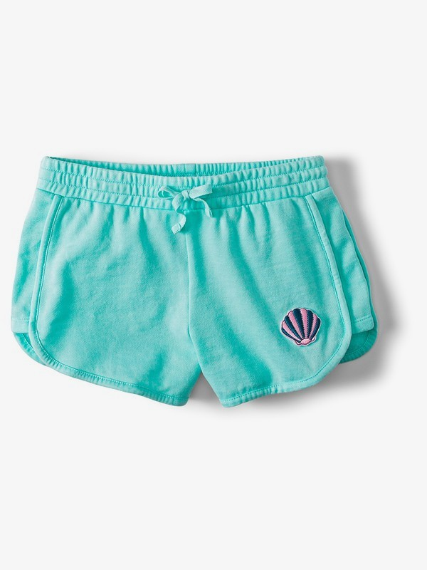 0 Ariel New Adventures Sweat Shorts Blue ARGFB03005 Roxy