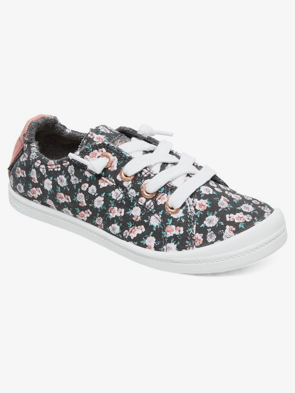 0 Niñas 7-14 Zapatos Bayshore Negro ARGS600091 Roxy