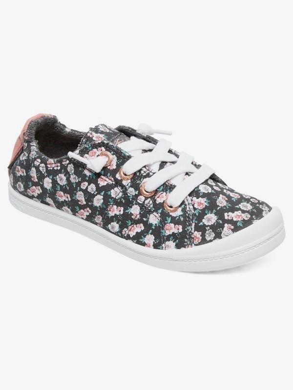 0 Girl's 7-14 Bayshore Shoes Black ARGS600091 Roxy