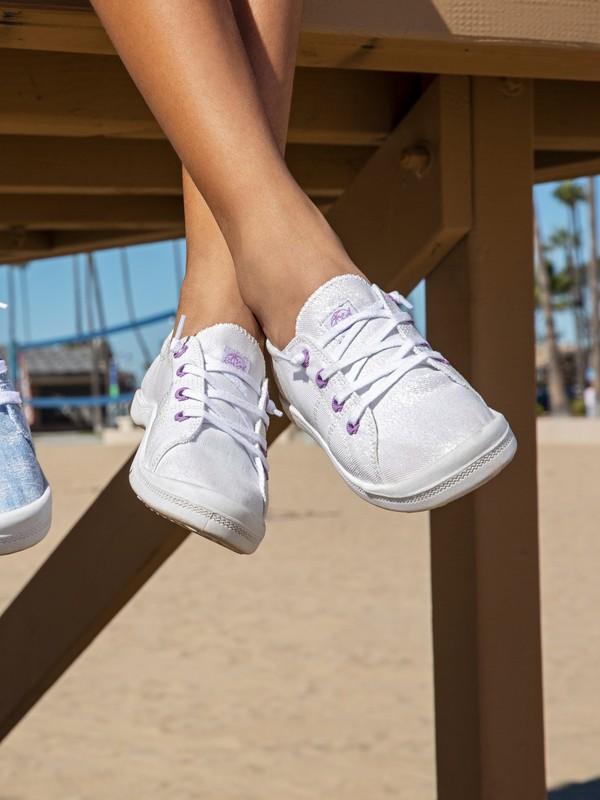 0 Girl's 7-14 Bayshore Shoes Green ARGS600100 Roxy