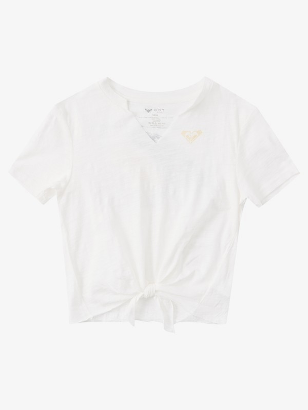 Tres Fins - Tie-Front T-Shirt for Girls 4-16  ARGZT03427