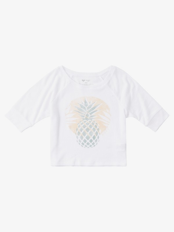 Pineapple Sun - 3/4 Sleeve T-Shirt for Girls 4-16  ARGZT03433