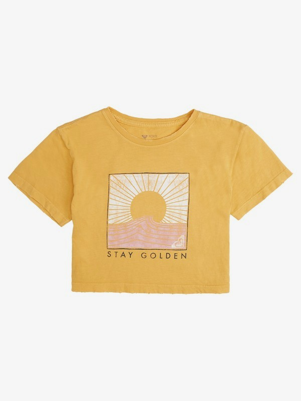 Stay Golden - Cropped T-Shirt for Girls 8-16  ARGZT03509