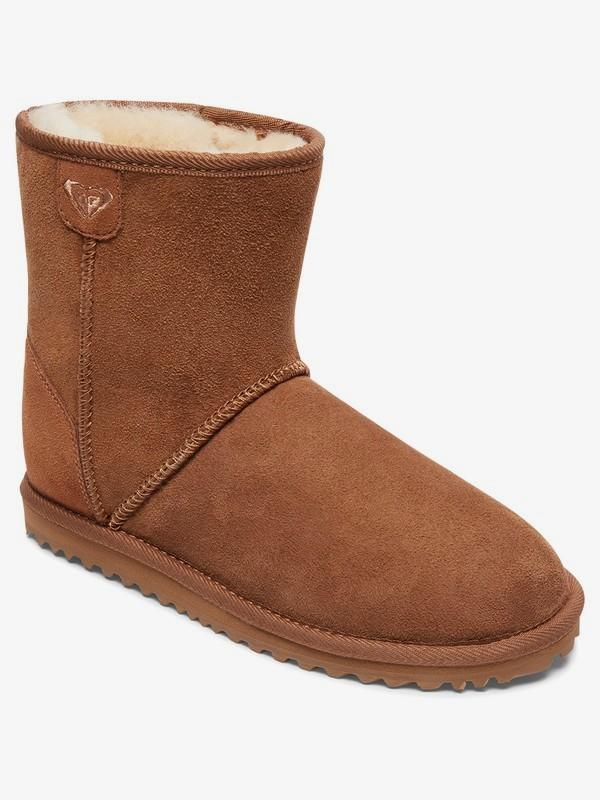 0 Renton - Botas de piel de oveja para Mujer Marron ARJB700553 Roxy