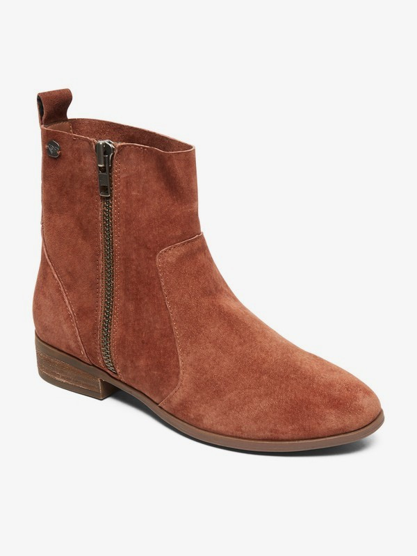 0 Eloise Suede Boots Black ARJB700588 Roxy