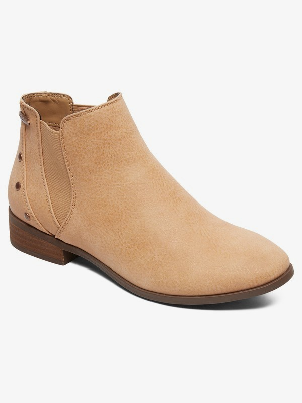 0 Yates - Ankle Boots for Women Beige ARJB700609 Roxy