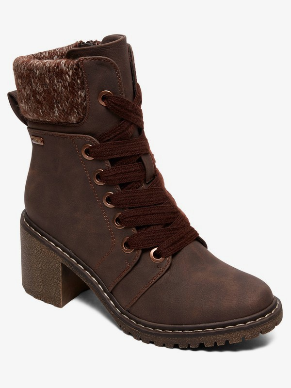 Whitley - Heeled Lace-Up Boots for Women  ARJB700620