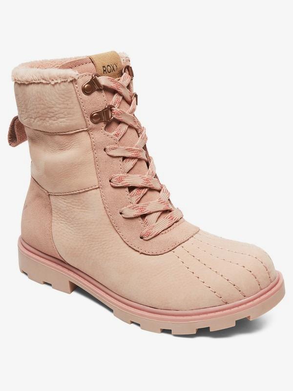 0 Meisa - Botas de Invierno con Cordones para Mujer Rojo ARJB700628 Roxy
