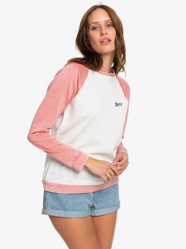 0 Palm Bazaar - Sweatshirt for Women Pink ARJFT03585 Roxy