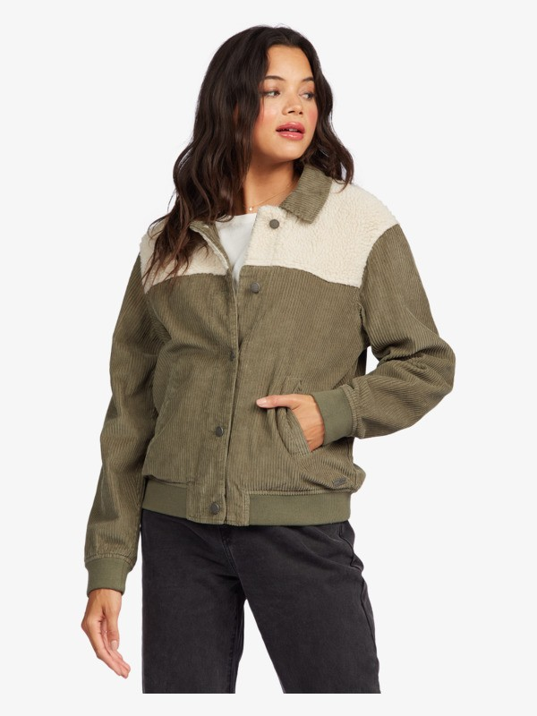 Walking In The Wilderness - Corduroy Jacket for Women ARJJK03051