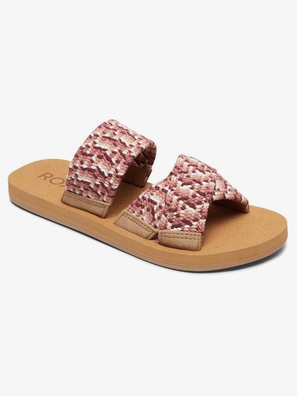 0 Shoreside Criss-Cross Sandals Orange ARJL100656 Roxy