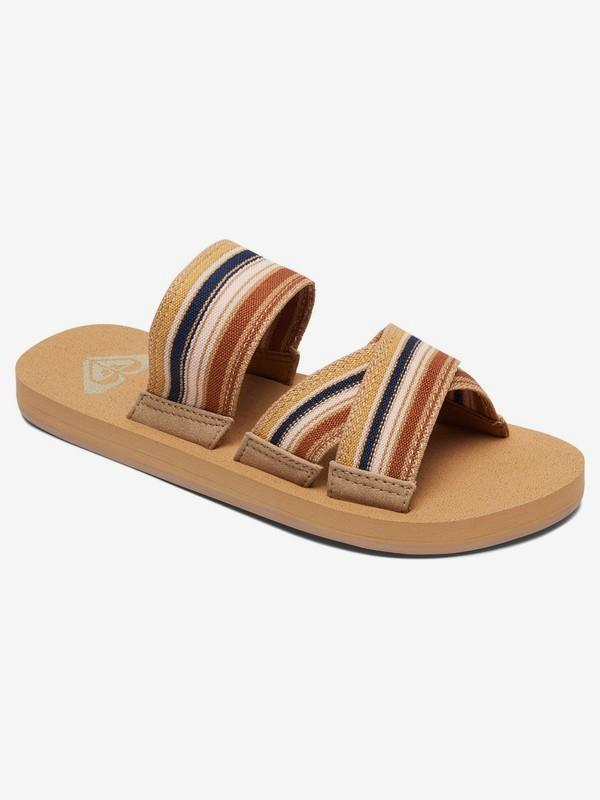 0 Shoreside Criss-Cross Sandals Multicolor ARJL100656 Roxy