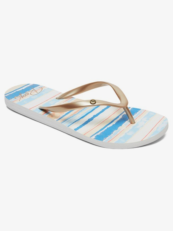 0 Portofino Flip-Flops Blue ARJL100668 Roxy