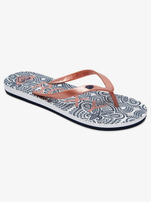 0 Tahiti Flip-Flops Orange ARJL100669 Roxy