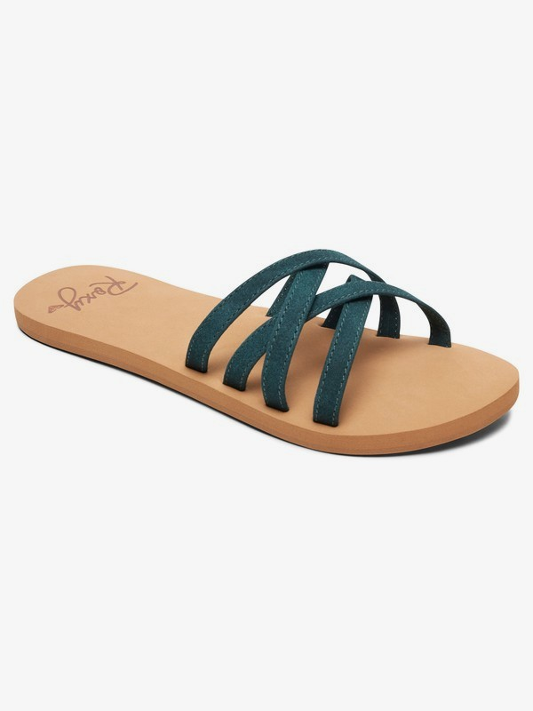 0 Abbie Sandals Green ARJL100749 Roxy