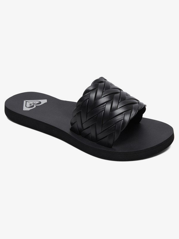 0 Kirbi Slider Sandals Black ARJL100768 Roxy