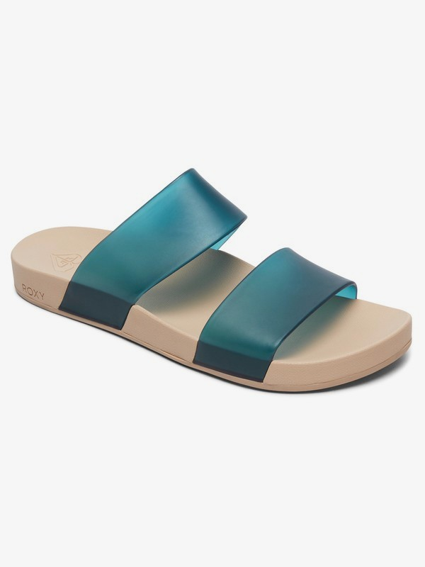0 Lonee 2 Strap Sandals Green ARJL100770 Roxy