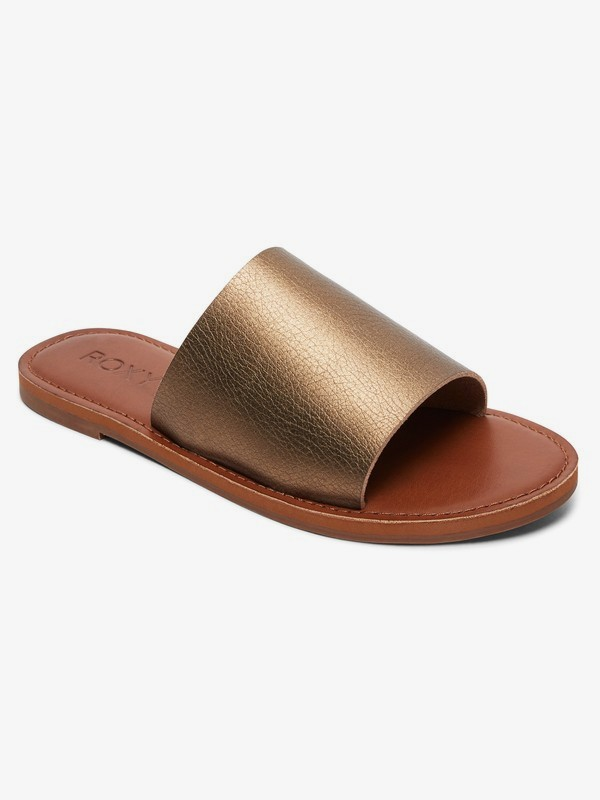 0 Kaia Slide Sandals Brown ARJL200654 Roxy
