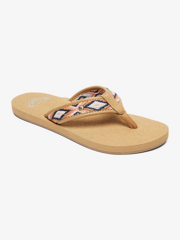 0 Saylor Sandals Beige ARJL200666 Roxy