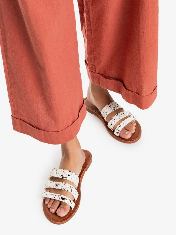 Wyld Rose - Leather Sandals for Women  ARJL200791