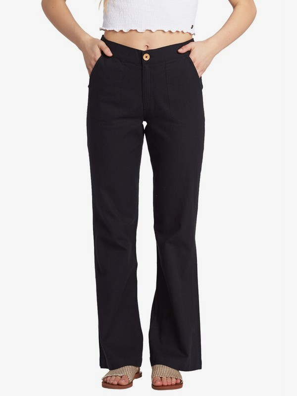 Oceanside - High Waisted Flared Beach Pants for Women  ARJNP03155