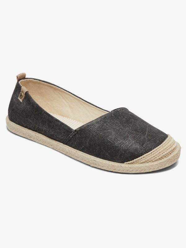 0 Flora - Zapatillas para Mujer Negro ARJS600412 Roxy