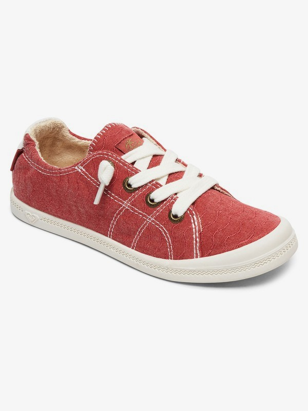 0 Bayshore Shoes Red ARJS600418 Roxy