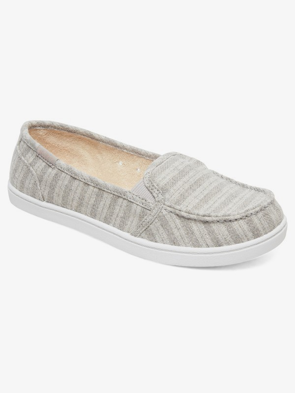 0 Minnow Slip-On Shoes Grey ARJS600433 Roxy
