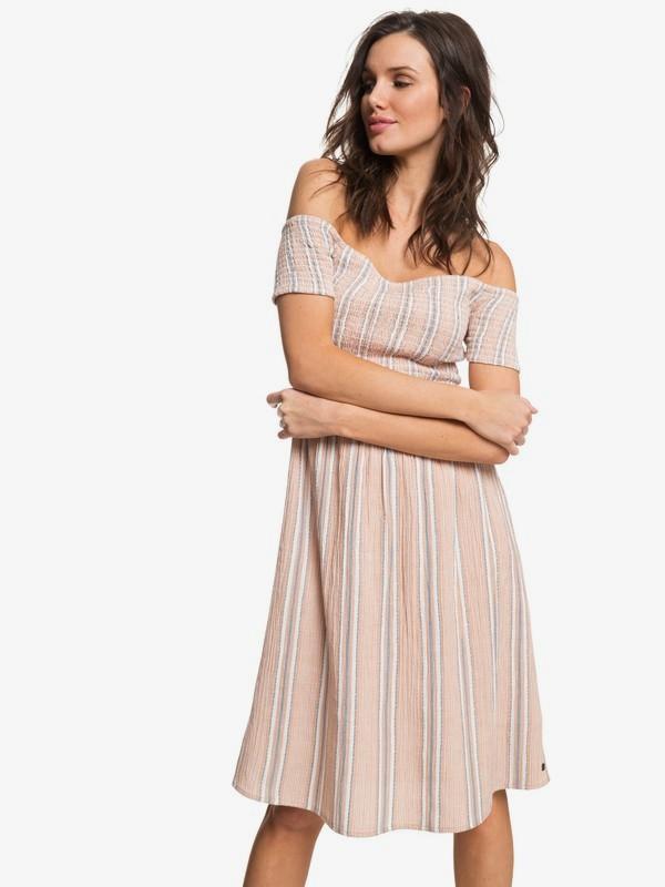 0 Pretty Lovers Off The Shoulder Dress  ARJWD03197 Roxy